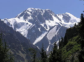 Talgar Mountains