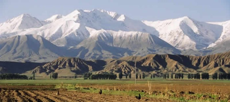 Tian Shan Mountains 2