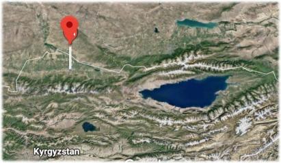Bishkek Issyk Kul Map