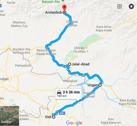 Arslanbob Route 2