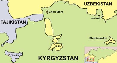 Batken Region Enclaves