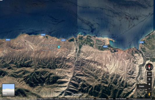 Fairy Tale Canyon Google Earth 1