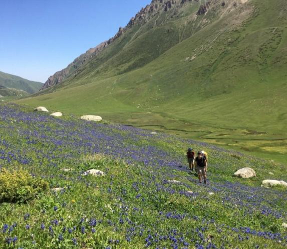 Jyrgalan Valley Trekking -Freeride Skiing 1