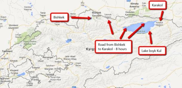 Silk Road to Karakol