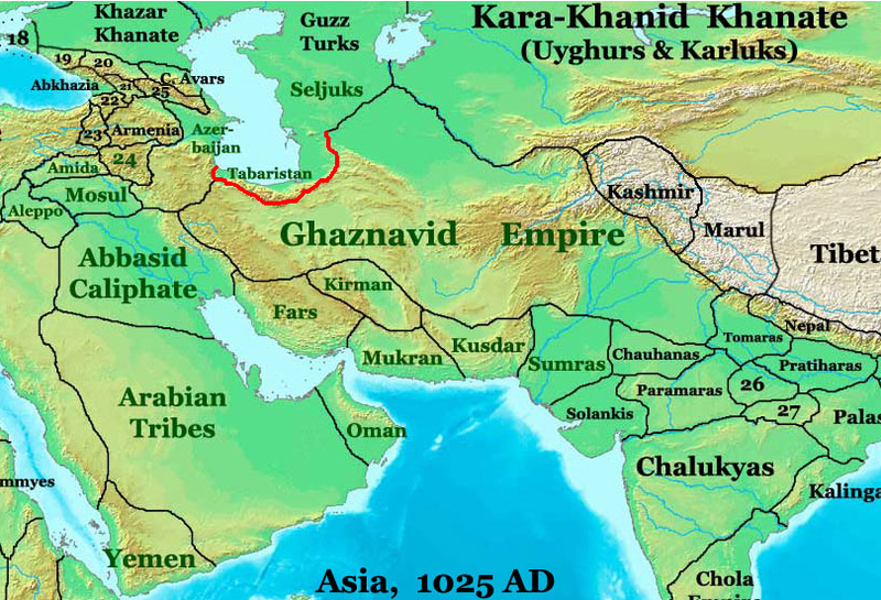 Tabaristan_ON_THE_Qaznavid_Empire