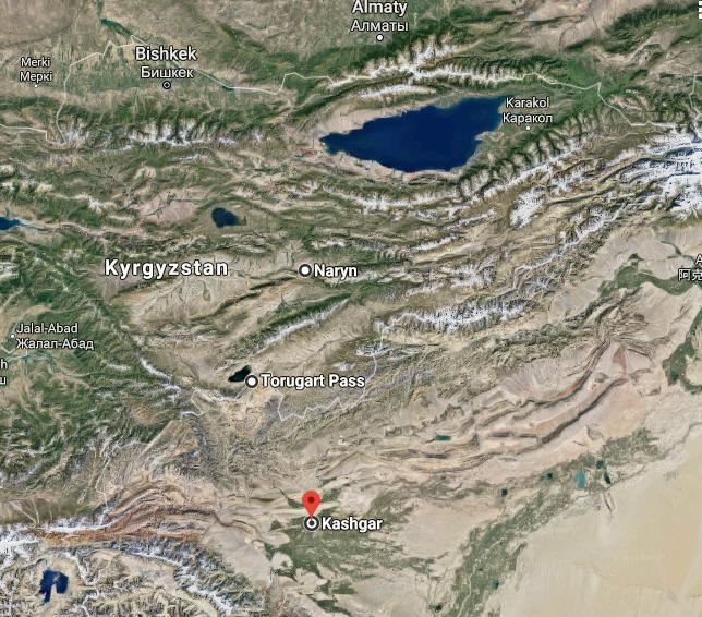 Torugart Pass Google Earth 1