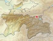 Trans-Alay Range Map