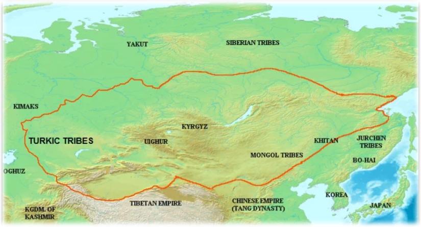 An Lushan's Rebellion Map