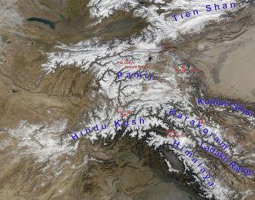 High_Asia_Mountain_Ranges