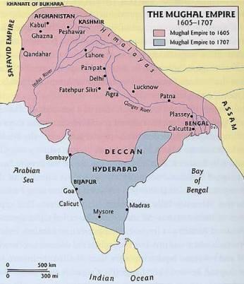 Mughal-Empire-during-Akbar-Period