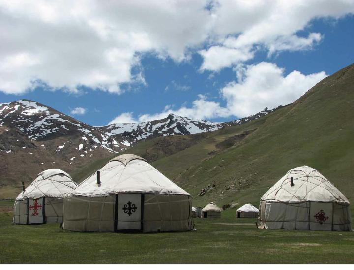 Yurt Camp Omuebek