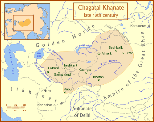 Chagatai Khanate late 13th Century