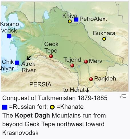 Conquest of Turkmenistan