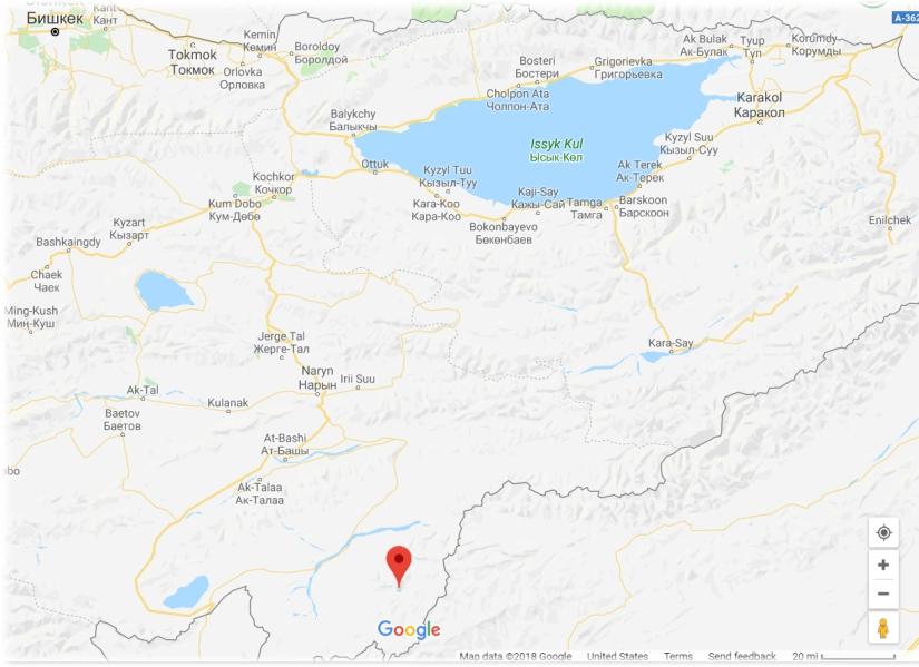 Kol Suu Map