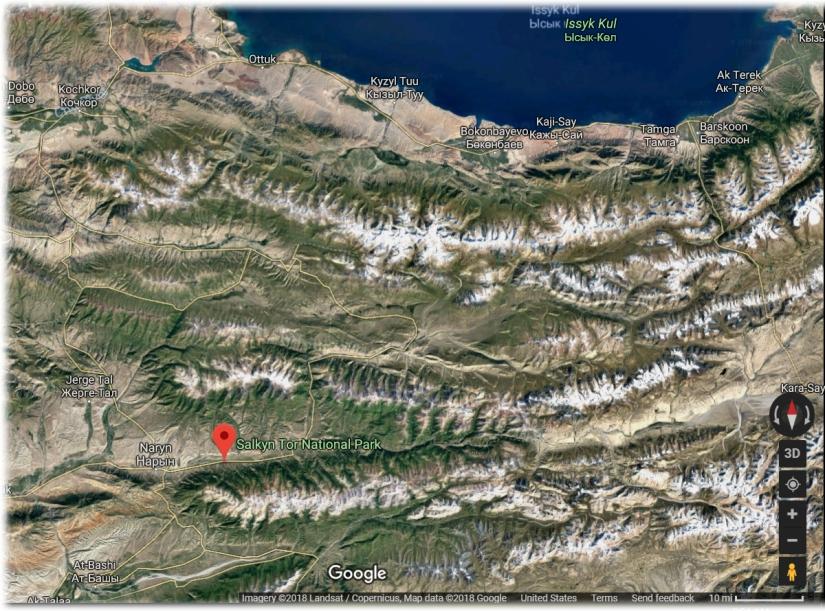 Salkyn-Tor Google Earth